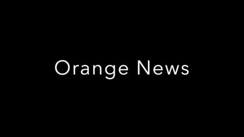 Thumbnail for entry Orange News 9-4-2014