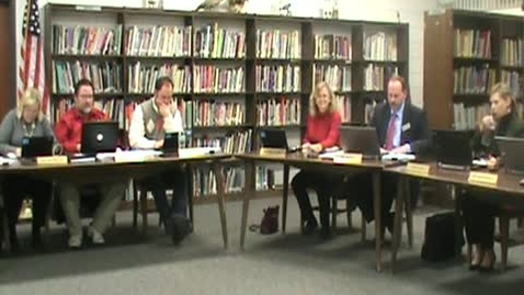 Thumbnail for entry School Board Meeting 3/8/2012