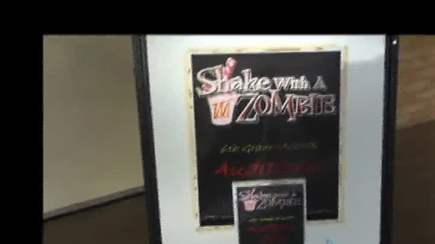 Thumbnail for entry Shake with a Zombie Auditions