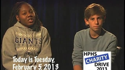 Thumbnail for entry Tuesday, February 5, 2013