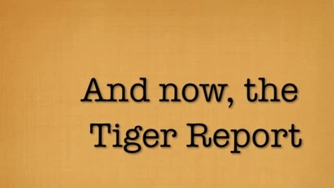 Thumbnail for entry 2016 02 05 Tiger Television