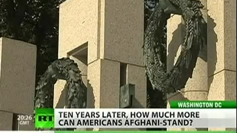 Thumbnail for entry A decade in Afghanistan What do Americans know.mp4