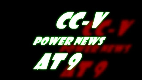 Thumbnail for entry CC-V Student News Broadcast