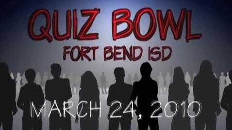 Thumbnail for entry Quiz Bowl 2010