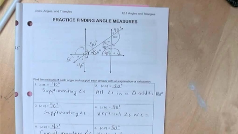 Thumbnail for entry SP12 - Explanation of p. 6 and how to use a protractor