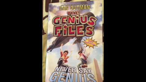 Thumbnail for entry Never Say Genius Dan Gutman.mp4