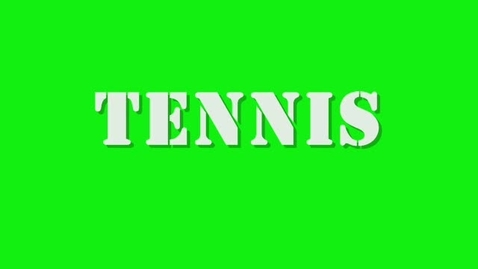 Thumbnail for entry Tennis 2011-2012