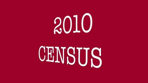 Thumbnail for entry Census 2010 - Be Counted