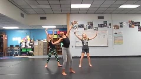 Thumbnail for entry 7th Period 6th grade Rhythm Name dances 10-20-16 group TH AH EM