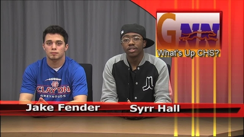 Thumbnail for entry What's Up CHS for 2/24/12
