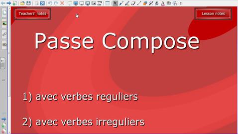 Thumbnail for entry Passé composé avec avoir