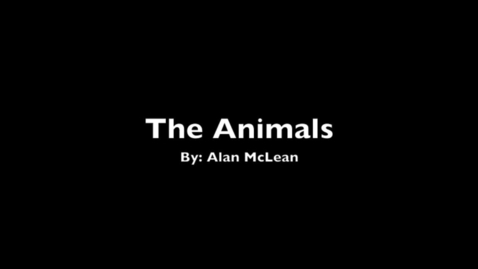 Thumbnail for entry The Animals
