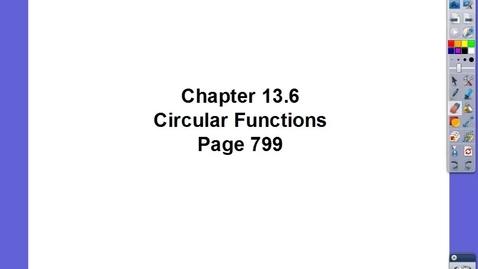 Thumbnail for entry Algebra II Ch 13.6