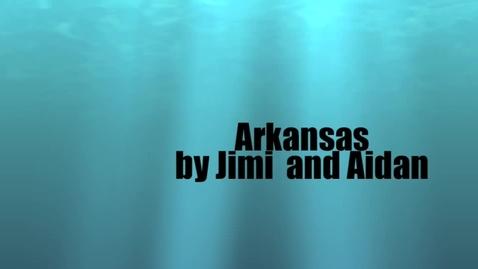 Thumbnail for entry Arkansas by Jimi & Aidan