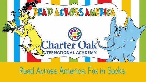Thumbnail for entry Read Across America Week: Fox in Socks