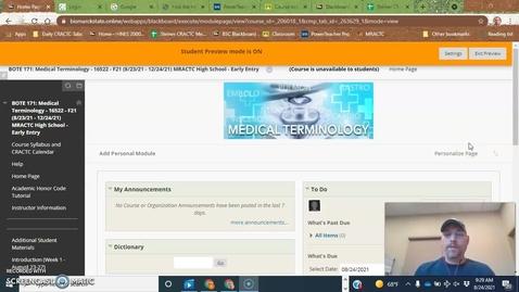 Thumbnail for entry Blackboard