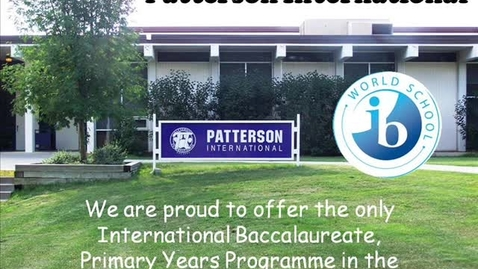 Thumbnail for entry Patterson International: Who We Are