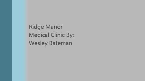 Thumbnail for entry Wesley Bateman Career Shadowing
