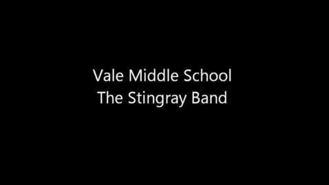 Thumbnail for entry Vale MS Wind Ensemble - Paper Cut