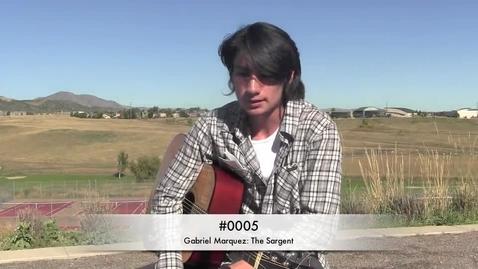 Thumbnail for entry Studio Session #5 Gabriel Marquez