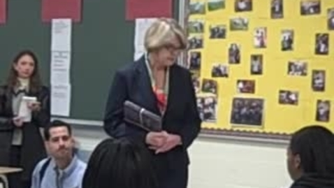 Thumbnail for entry U.S. Secretary of Education Margaret Spellings Visits Columbia High School