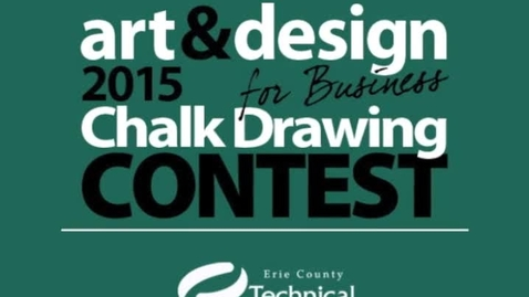 Thumbnail for entry 2015 Art & Design Student Chalk Drawing Competition