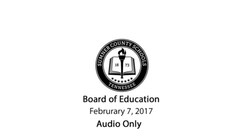 Thumbnail for entry Febraury 21, 2017 Regular Meeting