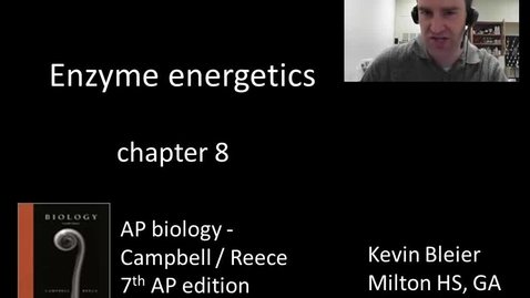 Thumbnail for entry Enzyme energetics