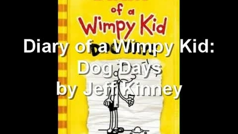 Thumbnail for entry Diary of a Wimpy Kid by Jeff Kinney