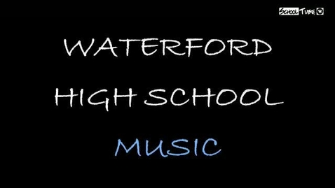 Thumbnail for entry 2009 Waterford Music Department