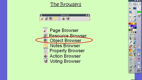 Thumbnail for entry Object Browser