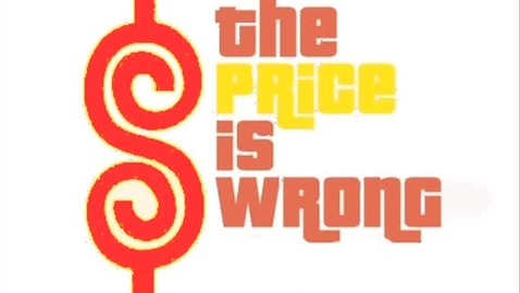 Thumbnail for entry The Price is Wrong...Womp!