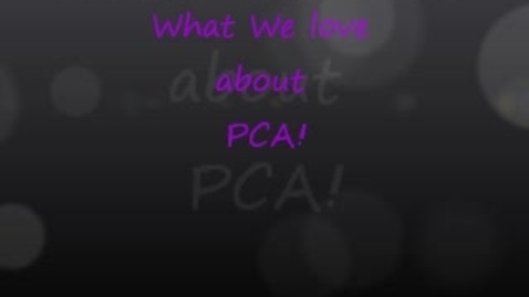 Thumbnail for entry PCA at its best!