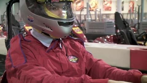 Thumbnail for entry Real Life Mario Kart!