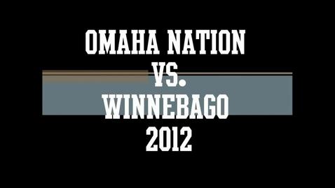 Thumbnail for entry Omaha Nation Chiefs Football vs Winnebago Indians 2012