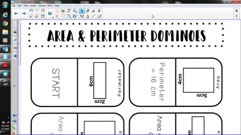 Thumbnail for entry Area and Dominoes Choice 2