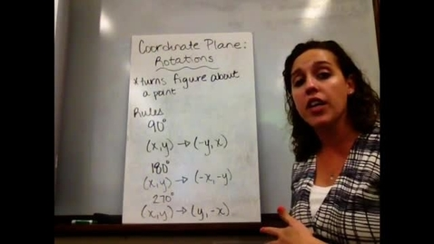 Thumbnail for entry Pre-Alg - Sect 10-9 Coordinate Plane: Rotations