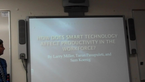 Thumbnail for entry Smart Devices and decrease of productivity