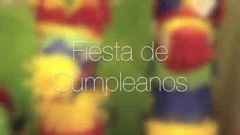 Thumbnail for entry Spanish Video Feliz Cumpleanos