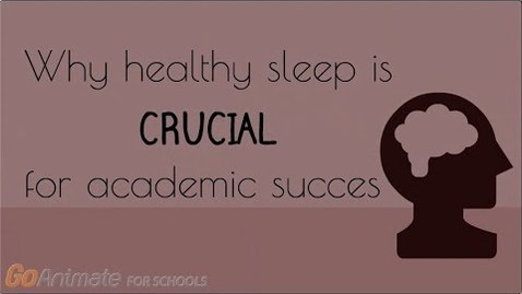 Thumbnail for entry Why healthy sleep is crucial for academic success