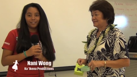Thumbnail for entry Kupuna Interview - Origami