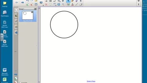 Thumbnail for entry Smart Notebook11: 7. Recording Tool