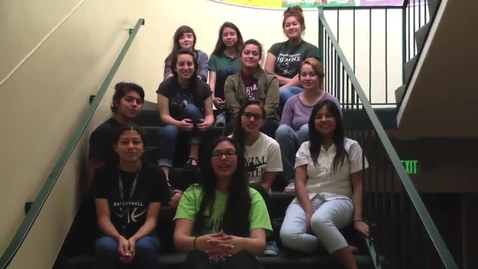 Thumbnail for entry Class of 2014 Senior Video