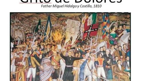 Thumbnail for entry Grito de delores speech