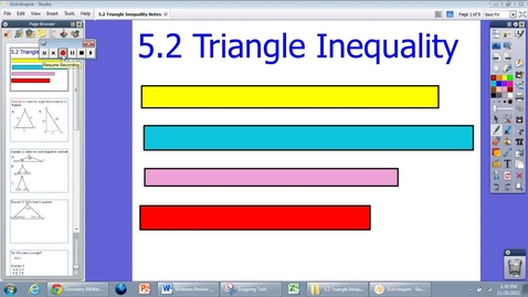 Thumbnail for entry 5.2 Notes Triangle Inequality
