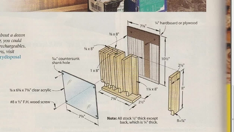 Thumbnail for entry Battery Holder on SketchUp