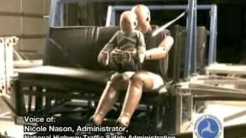 Thumbnail for entry Crash Test with adult holding an infant