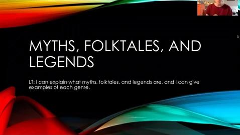 Thumbnail for entry Myths Folktales Legends Lesson