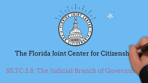Thumbnail for entry 3.8 Judicial Branch