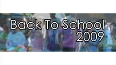 Thumbnail for entry Knox County Public Schools - Back to School 2009